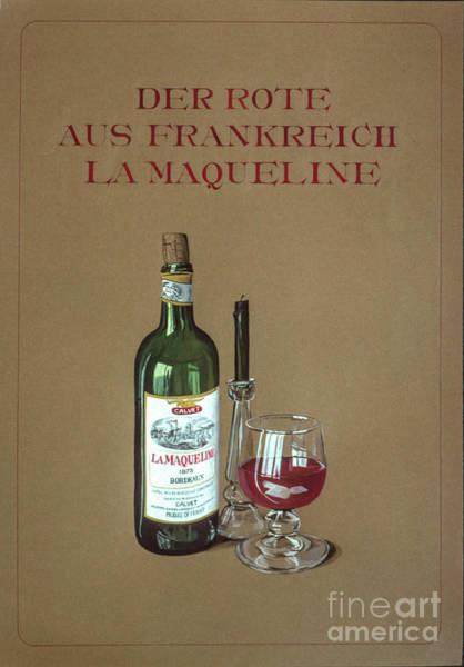 Photograph - Der Rote Aus Frankreich by Flavia Westerwelle