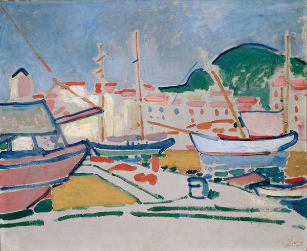 Wall Art - Painting - Derain, Andre  Port by Hermitage Museum