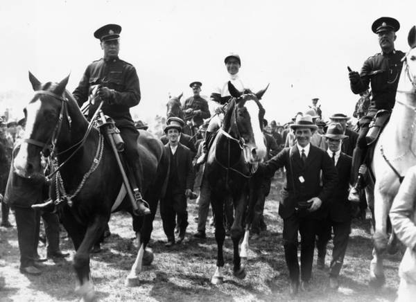 Epsom Derby Photograph - Derby Donoghue by Central Press