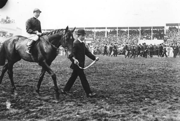 Epsom Derby Photograph - Derby Winners by Topical Press Agency