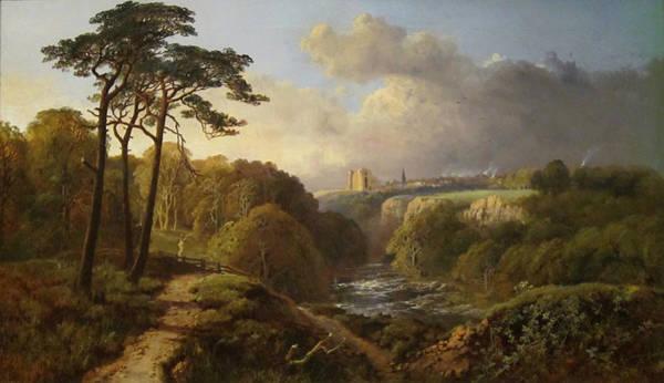 Wall Art - Painting - Derbyshire Landscape by Alexander Helwig Wyant