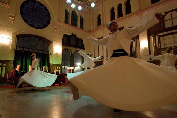 Wall Art - Photograph - Dervish Mystic Dance At The Sirkeci by Oliviero Olivieri / Robertharding