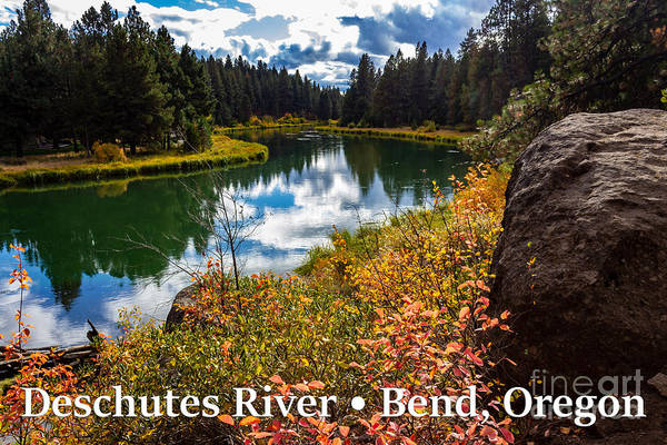 Photograph - Deschutes River, Bend, Oregon by G Matthew Laughton