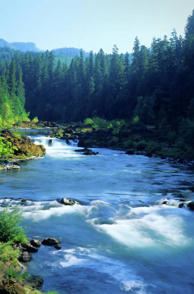 Deschutes River Photograph - Deschutes River, Oregon, August by Lawrencesawyer
