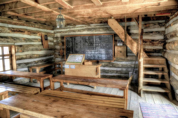 Pioneer School Photograph - Deseret School House by Donna Kennedy
