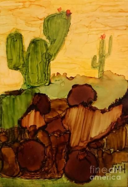 Wall Art - Painting - Desert Afternoon by Marsha Heiken