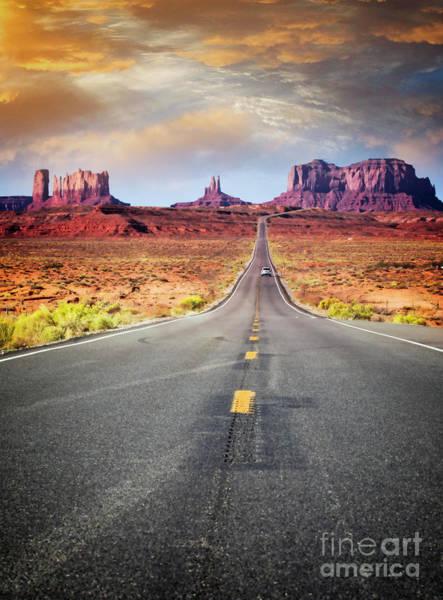 Photograph - Desert Drive by Scott Kemper
