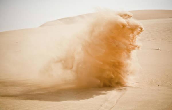 Dust Photograph - Desert by Enrique Díaz / 7cero