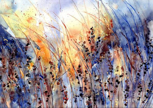 Wall Art - Painting - Desert Flowers by Suzann Sines