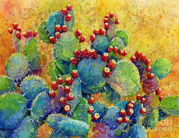 Plants Painting - Desert Gems by Hailey E Herrera