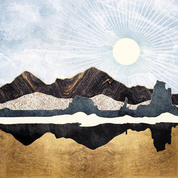 Wall Art - Digital Art - Desert Gold by Spacefrog Designs