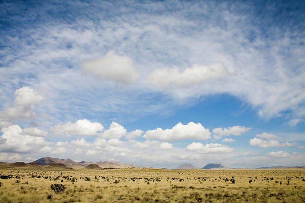 Wall Art - Photograph - Desert Landscape With Clouds by Michael Grimm