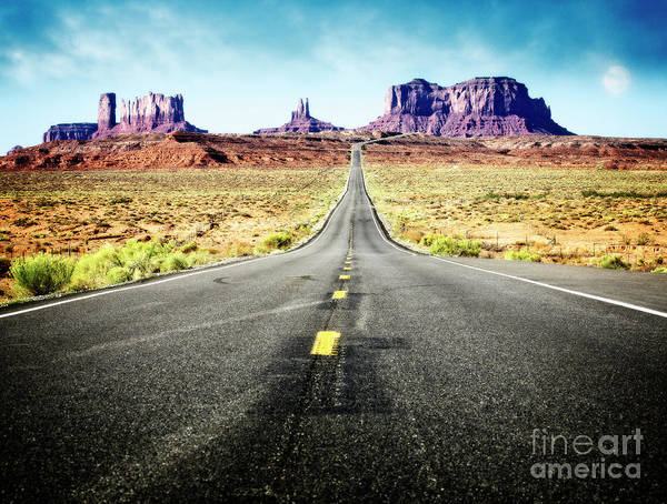 Photograph - Desert Road by Scott Kemper