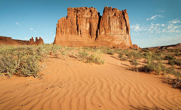 Courthouse Towers Wall Art - Photograph - Desert Towers by Tom Kelly Photo