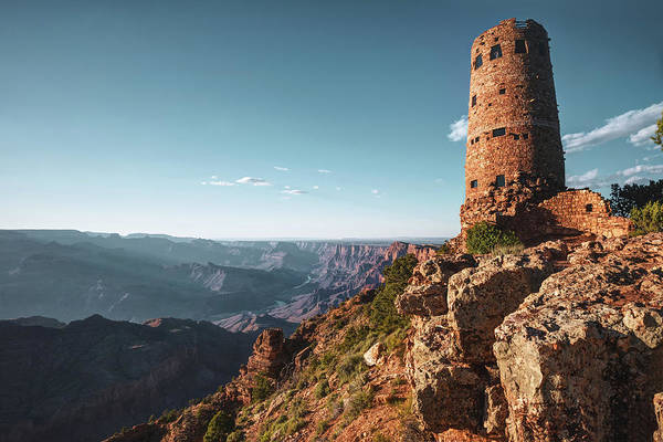 Photograph - Desert View Watchtower - Grand Canyon Arizona by Gregory Ballos