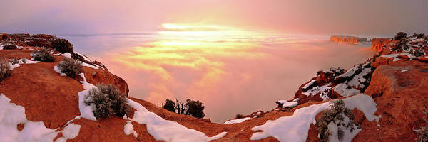Moab Photograph - Desert Winter by Chad Dutson