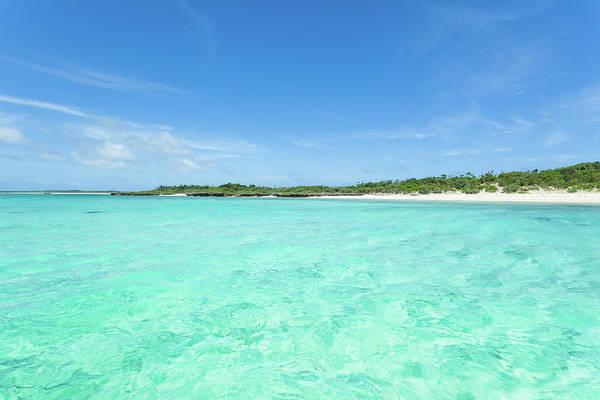 Okinawa Photograph - Deserted Tropical Island by Ippei Naoi