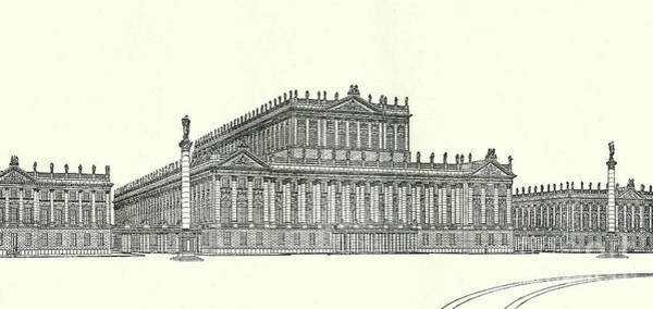 Wall Art - Drawing - Design For The Royal Opera House Berlin By Ludwig Hoffmann by Ludwig Hoffmann