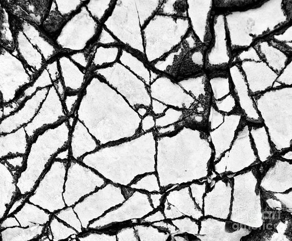 Wall Art - Photograph - Designed By Nature - Cracks by Norman Gabitzsch