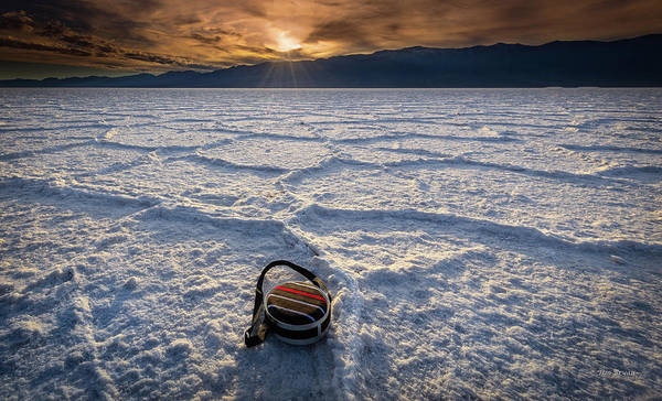 Photograph - Desperation At Badwater Basin by Tim Bryan