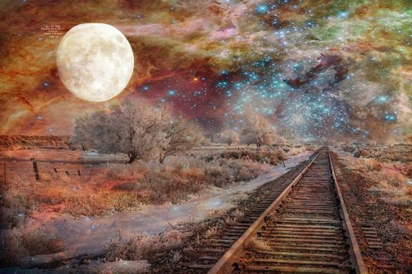 Digital Art - Destination Universe by Ramona Murdock