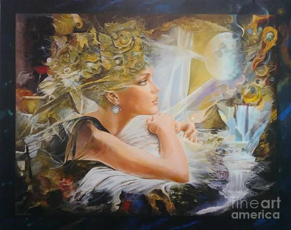 Painting - Destiny by Sinisa Saratlic
