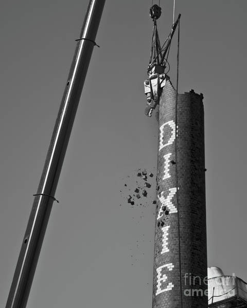 Photograph - Destruction Of Dixie by Patrick M Lynch