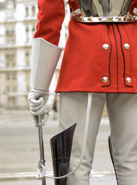 Honor Guard Photograph - Detail Of A Royal Guard by Shanna Baker