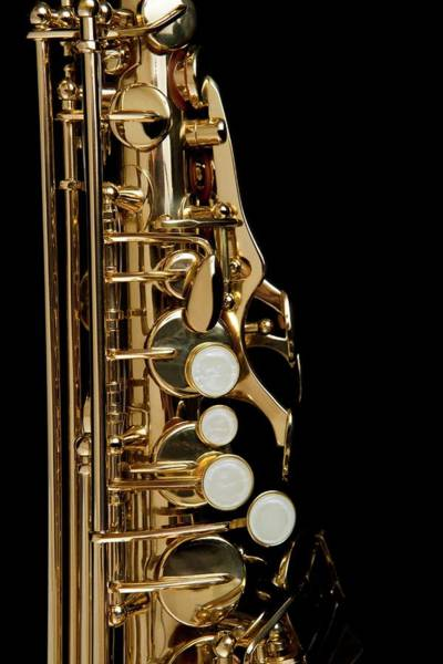 Wall Art - Photograph - Detail Of A Saxophone by Junior Gonzalez