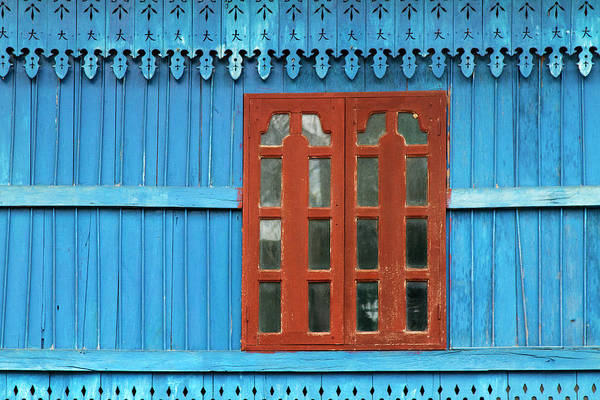 Photograph - Detail Of A Wooden House by Jean-claude Soboul