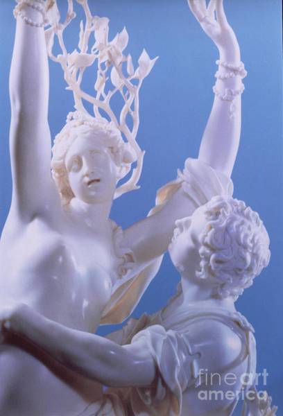 Wall Art - Photograph - Detail Of Apollo And Daphne, Marble by Jakob Auer
