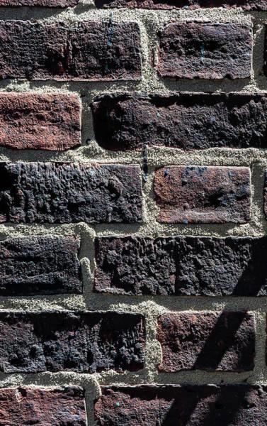 Photograph - Detail Of Brick Wall by Robert Ullmann