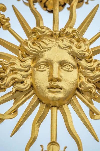 Wall Art - Photograph - Detail Of Gold Gate, Palace by Jim Engelbrecht