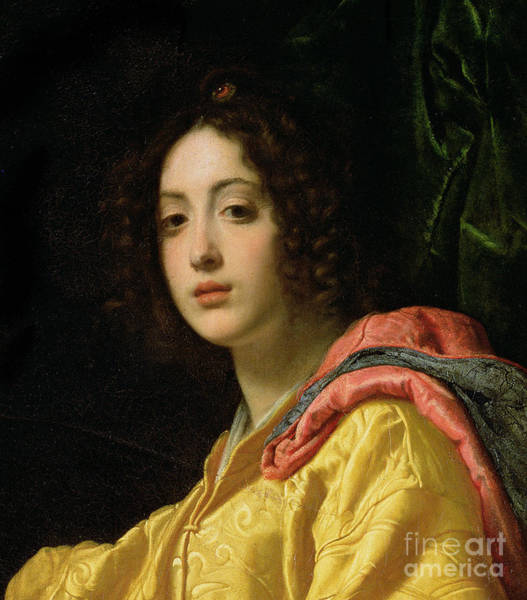 Wall Art - Painting - Detail Of Judith From Judith And Holofernes, 1599 By Cristofano Allori by Cristofano Allori