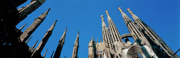 Wall Art - Photograph - Detail Of Sagrada Familia Cathedral by Panoramic Images