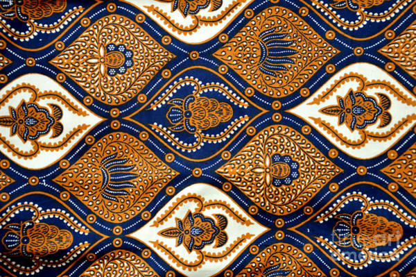 East Asian Culture Wall Art - Photograph - Detailed Patterns Of Indonesia Batik by Antoni Halim