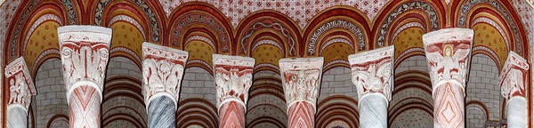 Wall Art - Photograph - Details Of Ceiling Of Church by Panoramic Images