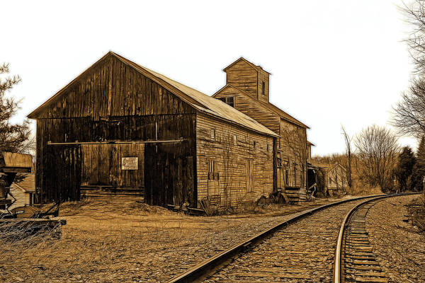 Wall Art - Photograph - Detour Millworks 2 by Mike Flynn