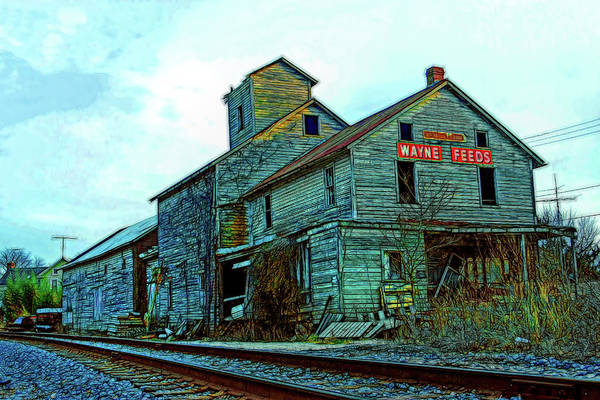 Wall Art - Photograph - Detour Old Millworks by Mike Flynn