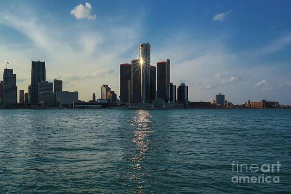 Photograph - Detroit Shines by Rachel Cohen
