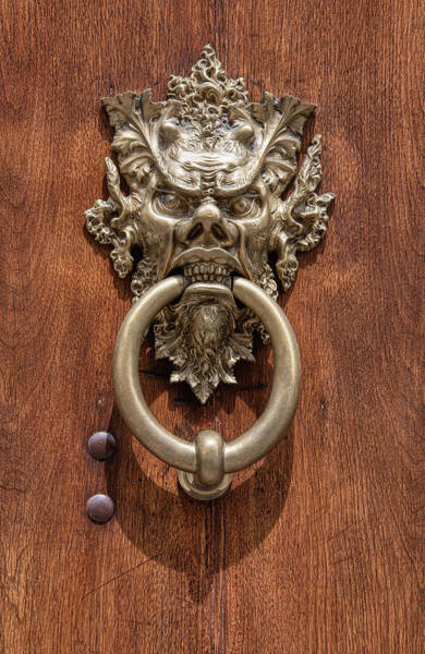 Wall Art - Photograph - Devil Door Of Venice by David Letts
