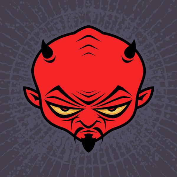 Satan Digital Art - Devil Dude by John Schwegel