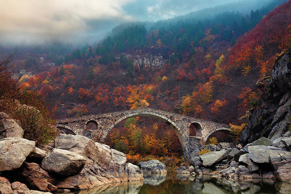Wall Art - Photograph - Devil's Bridge by Evgeni Dinev