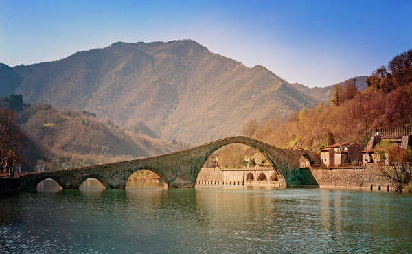 Photograph - Devils Bridge Italy by Joan Carroll