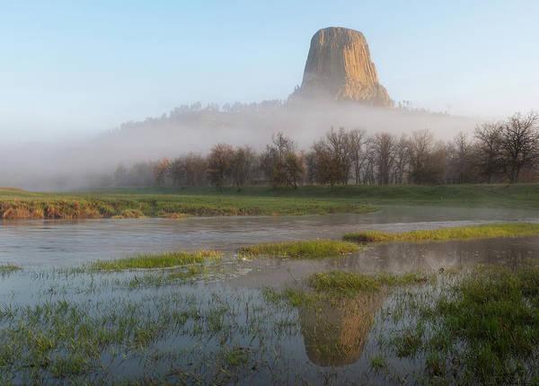 Photograph - Devil's Tower National Monument by Matt Shiffler