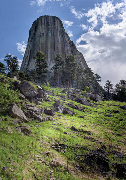 Wall Art - Photograph - Devils Tower National Monument Wyoming Usa II by Joan Carroll