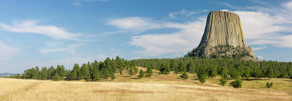 Wall Art - Photograph - Devils Tower Seen From Joyner Ridge by Panoramic Images