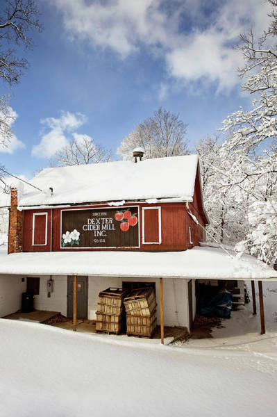 Photograph - Dexter Cider Mill by Jill Love
