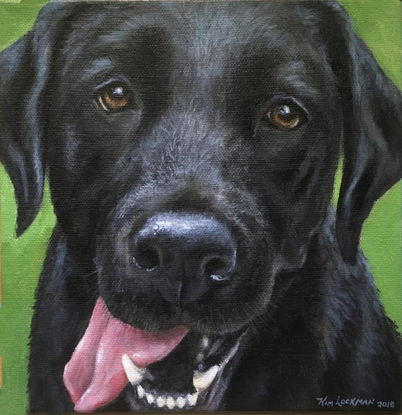Painting - Dexter by Kim Lockman