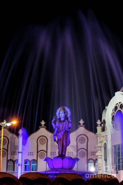 Photograph - Dhanvantari At Night by Tim Gainey